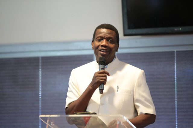 Video of Pastor Adeboye speaking on COZA Pastor rape allegation