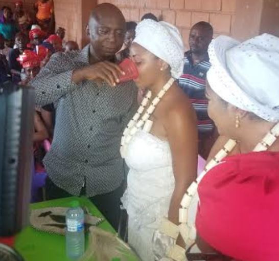 Traditional marriage Video | Photos of Ned Nwoko's wife, Regina Daniels being initiated into 'womanhood'