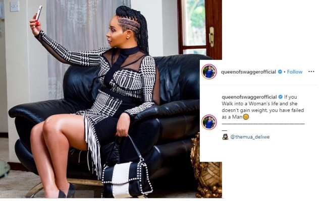 If your wife doesn't gain weight you have failed as a husband- Pokello says