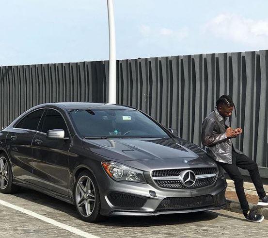 Lil Kesh acquires Mercedes Benz