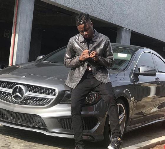 Lil Kesh acquires brand new Mercedes Benz (Photo)