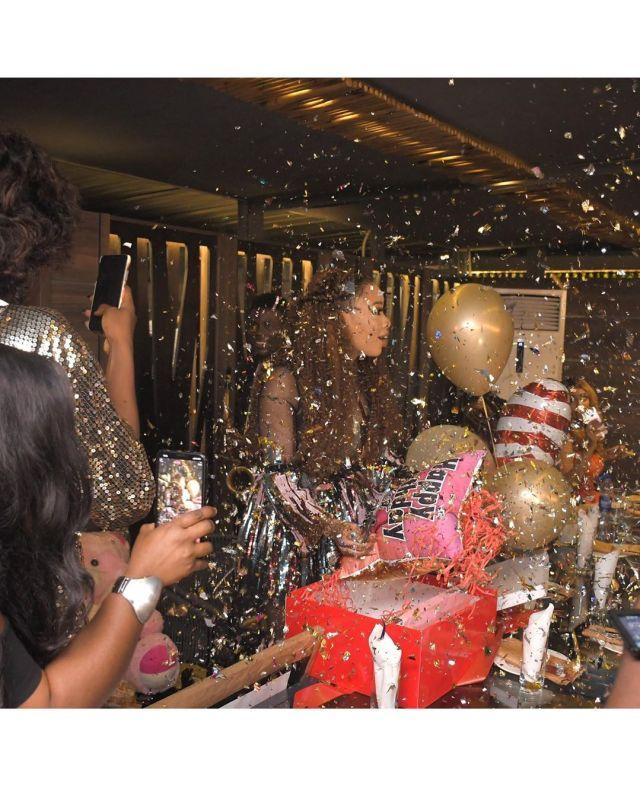 Nina Ivy birthday party