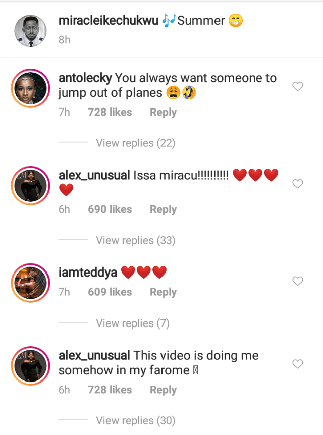 Miracle Ikechukwu Show Off His Girlfriend