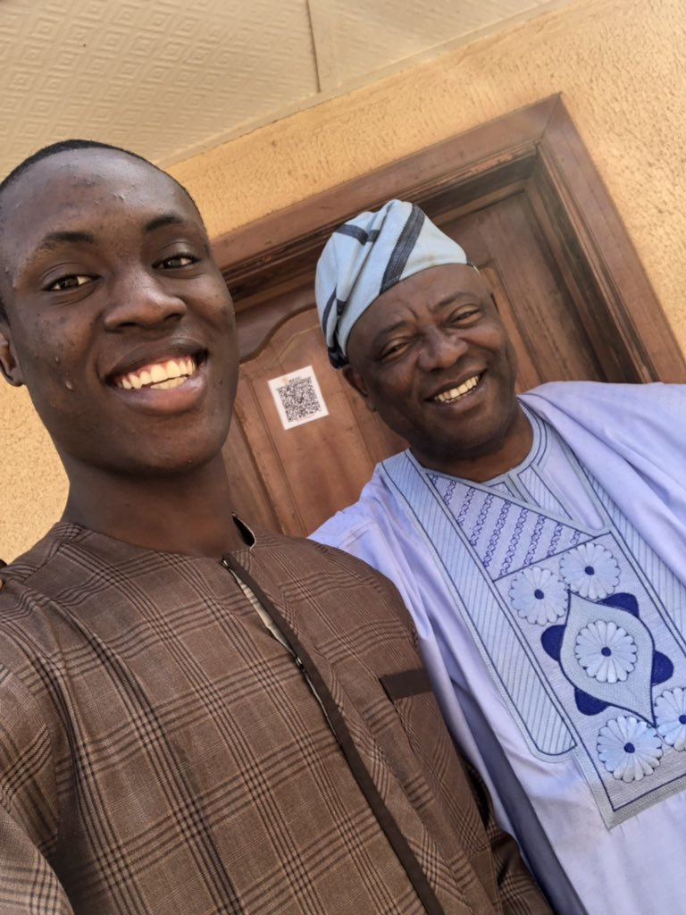 """""""You have a long rod. You must learn to pack it very well"""" – Nigerian father advises son after he sent him his NYSC photos"""