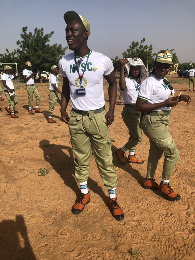 Nigerian father advises son
