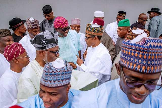 Buhari meets