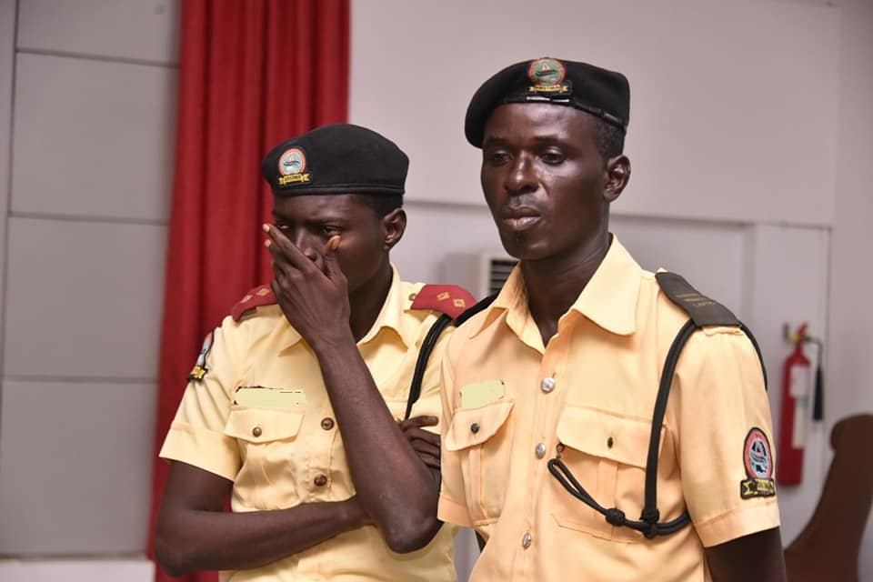 Lagos parades two LASTMA officers