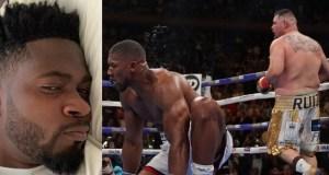 Anthony Joshua lose