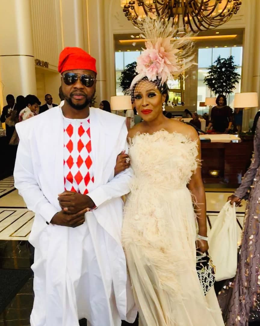white wedding Mo Abudu daughter