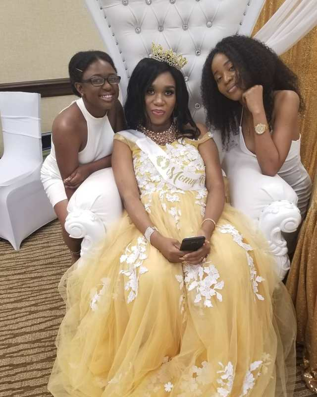 Sandra Iheuwa holds baby shower