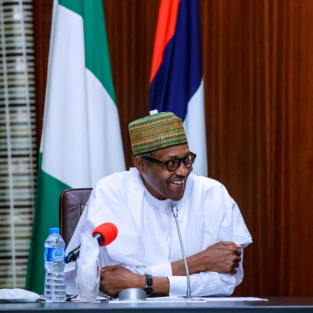 President Buhari congratulates Super Eagles