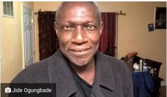 Jide Ogungbade dead