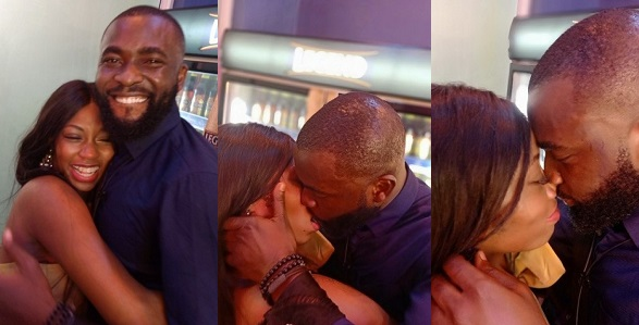 Image result for images of Close-up pictures of Khafi and Gedoni kissing