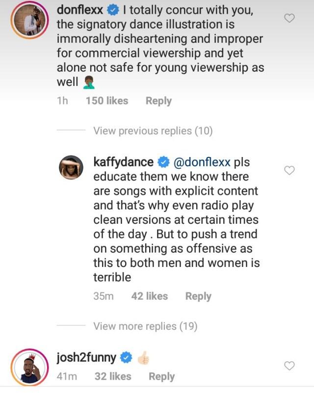 fs - Kaffy condemns Naira Marley's latest dance, soapy and Naira Marley reacts