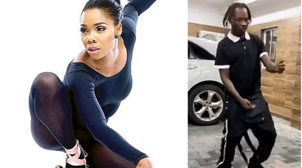 Kaffy condemns Naira Marley's new dance, soapy and he reacts