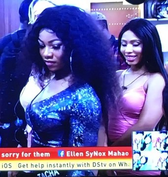 "BBNaija : Mike To Tacha – ""Your energy was negative, I hope this your coming back has humbled you."""