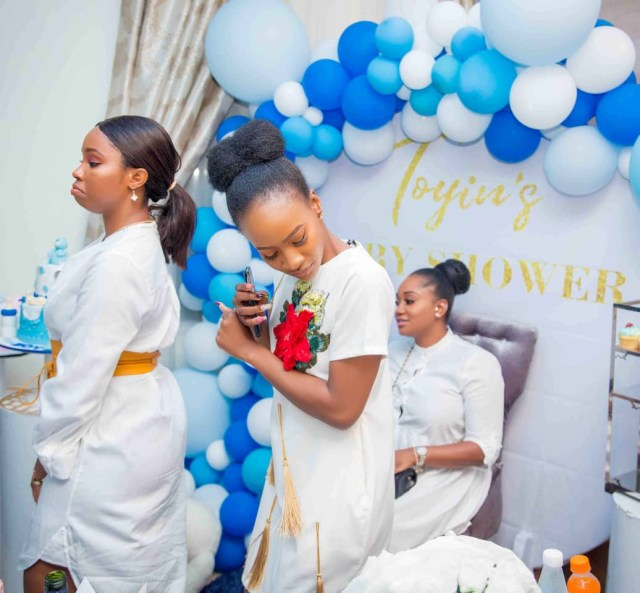 Toyin Abraham's Surprise Baby Shower
