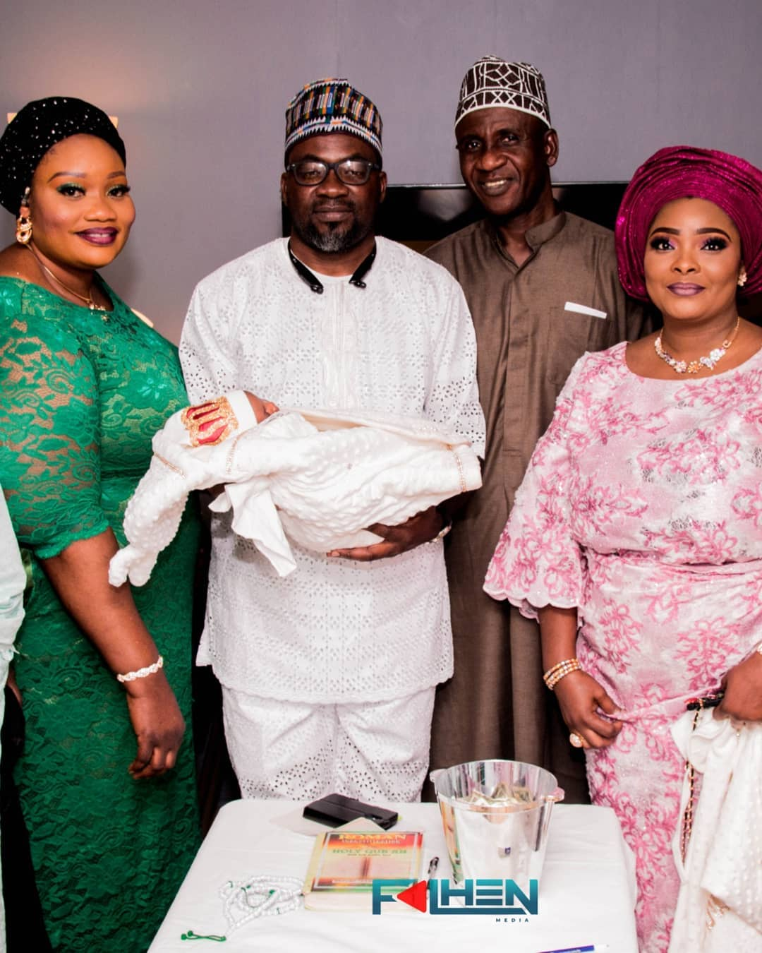 Ronke Odusanya naming ceremony