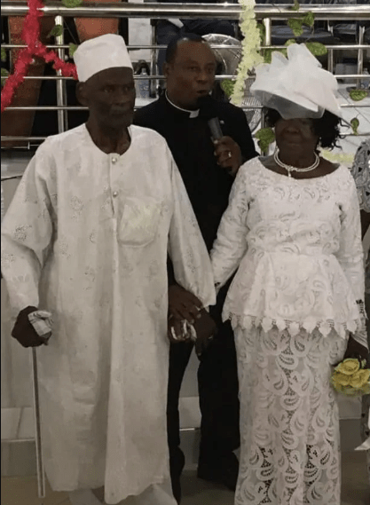 96-year-old man marries