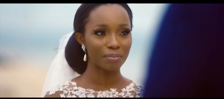 Bambam & Teddy-A holds White Wedding in Johnny Drille's new music video 1