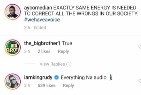 "Paul Okoye throws shade - ""Everything na audio money"" ? 1"
