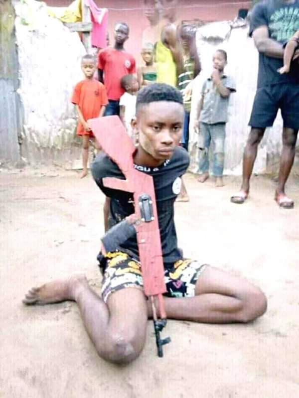 Teenage armed robber nabbed
