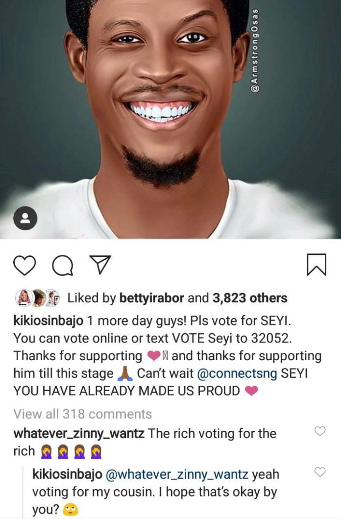 Kiki Osinbajo responds