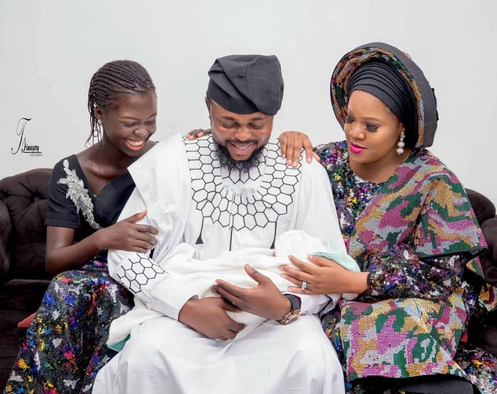 #NigeriaAt59: Toyin Abraham shares Family Photo