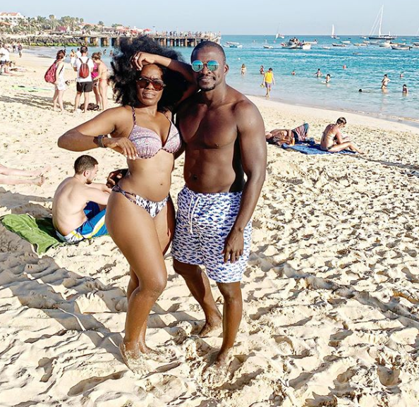 One year after their wedding, Media personality, Shade Ladipo with her husband goes on a honeymoon