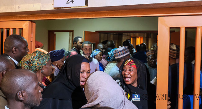 Maryam Sanda attempts to flee after court sentenced 1