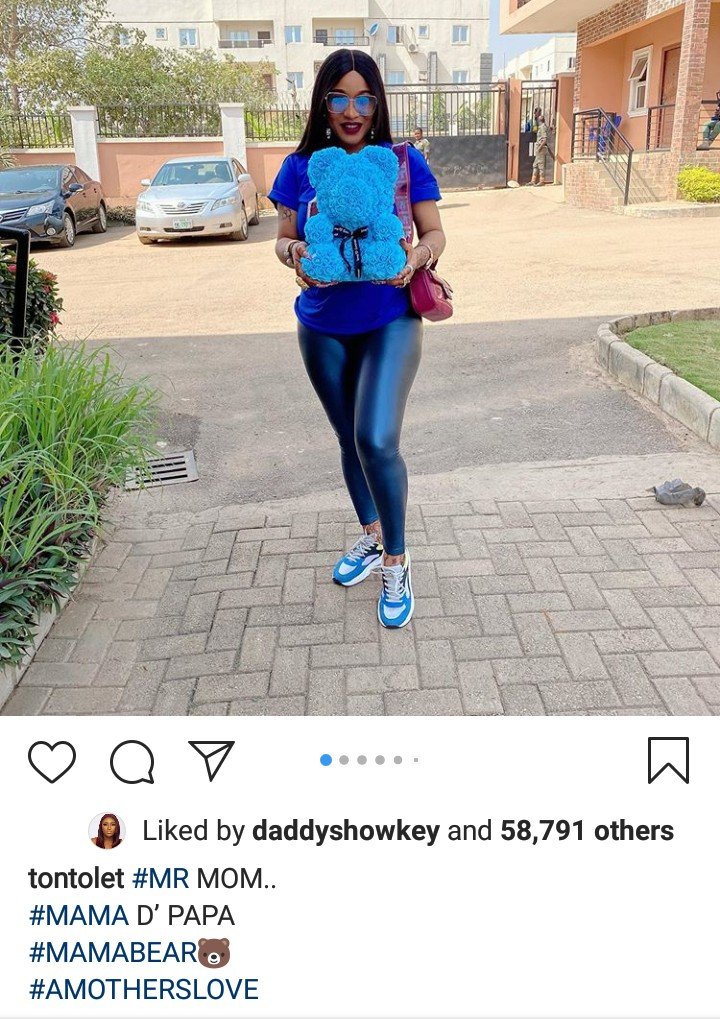 """""""Blood ain't family"""" – Tonto Dikeh thanks her """"big baby"""" for being there on her son's birthday 4"""
