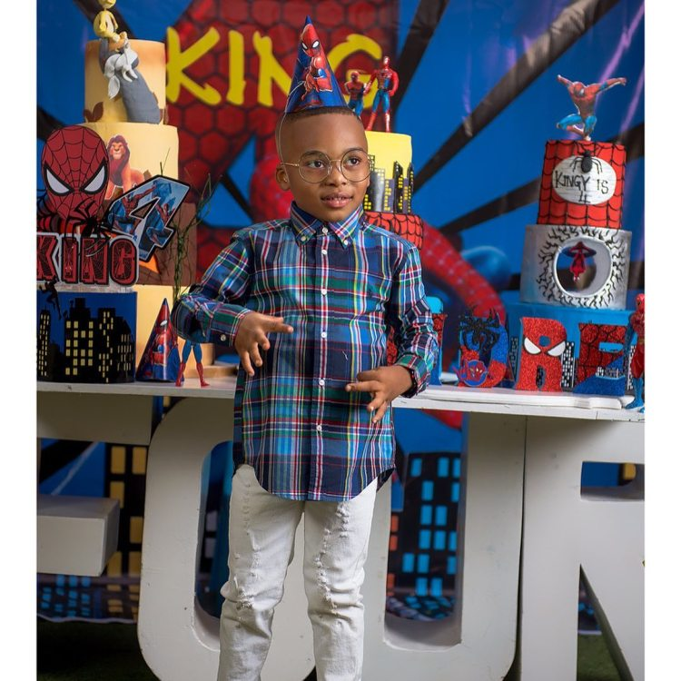 """""""Blood ain't family"""" – Tonto Dikeh thanks her """"big baby"""" for being there on her son's birthday 2"""