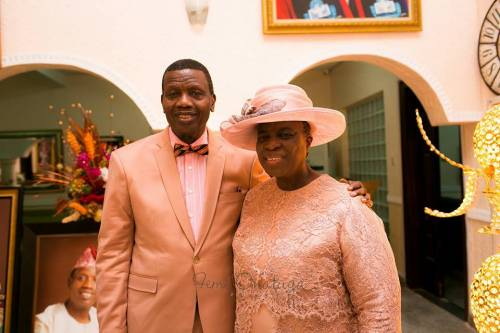 """You can insult me but if you mess around with my wife """"I will kill you """" – Pastor Adeboye warns (Video)"""