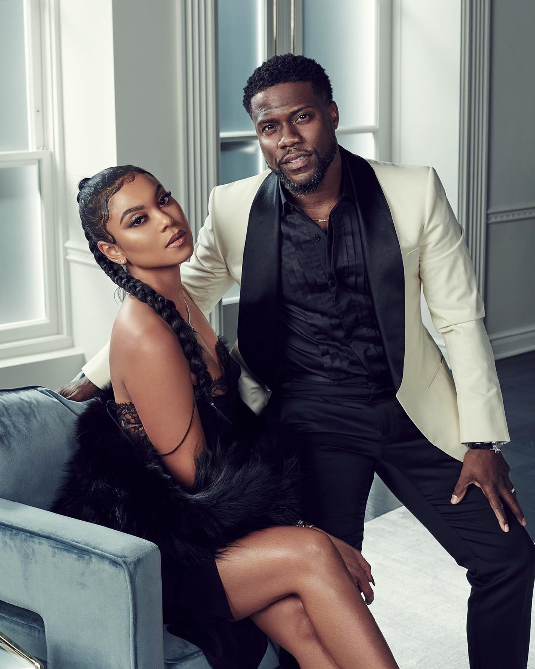 Kevin Hart and Eniko Parrish expecting their second child together