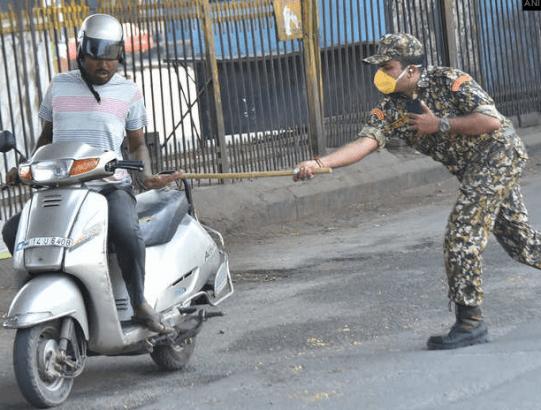 punishment India police