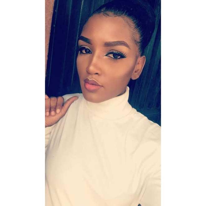 Mercy Aigbe's step-daughter