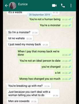 """Working class lady blows hot on her unemployed boyfriend after discovering that he """"squandered"""" her money (Screenshots) 12"""