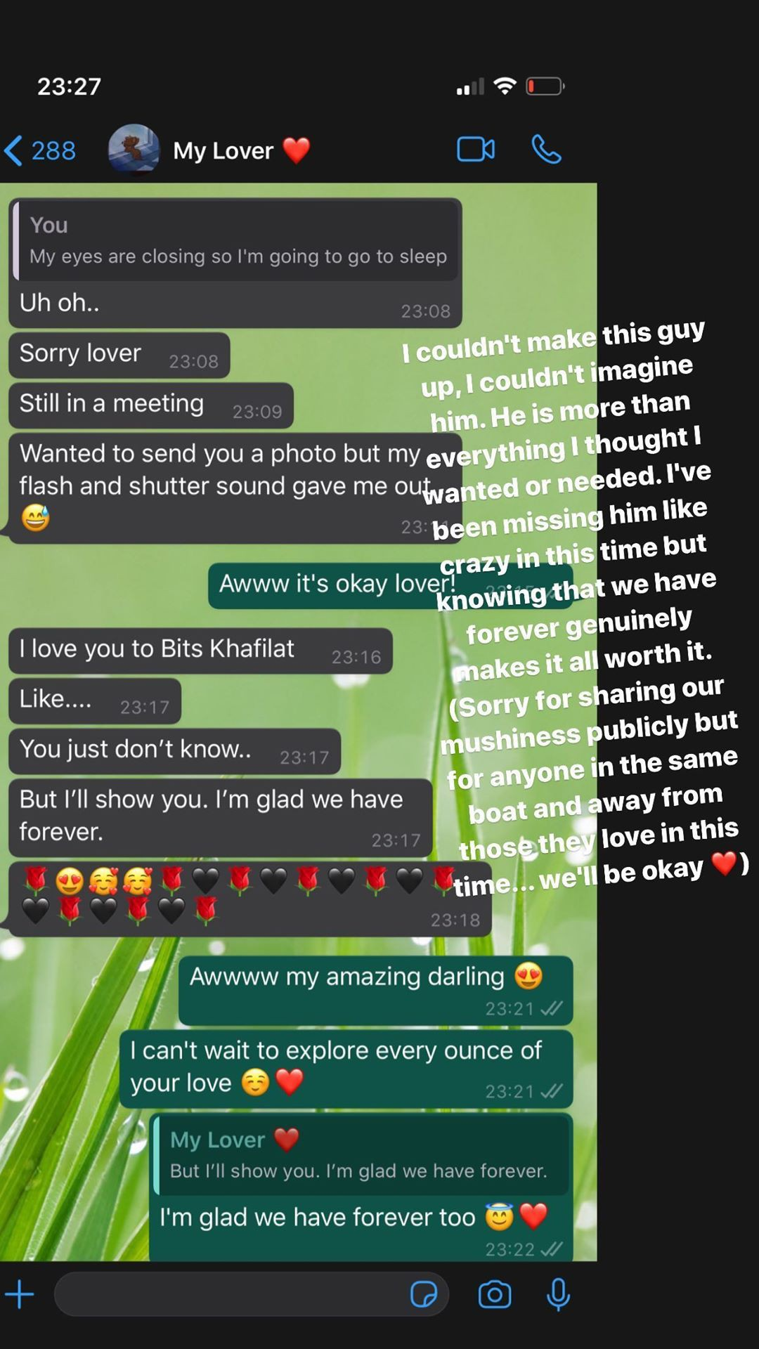 #BBNaija's Khafi gushes over fiance Gedoni as she shares their private conversation