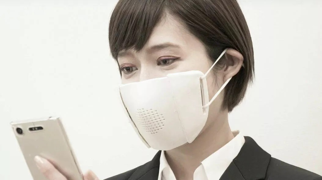 Japanese Startup Creates Face Mask Attachment With Transcribing And Translating Functions