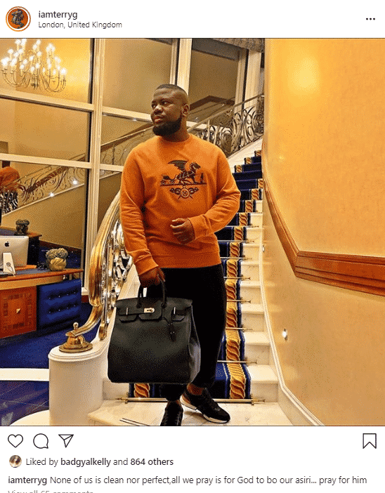 """""""None of us is clean, pray for Hushpuppi"""" – Terry G reacts to his arrest"""