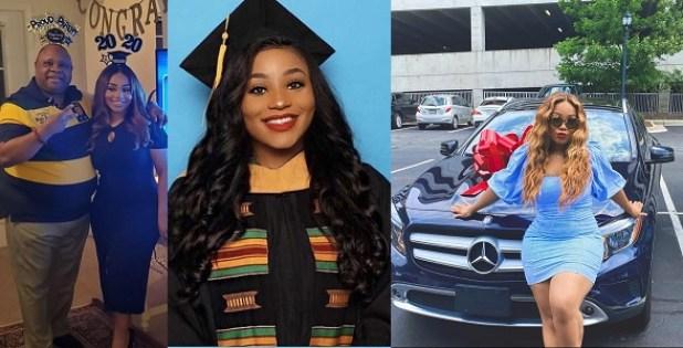 Davido's cousin, Adenike, receives Benz as graduation gift from ...