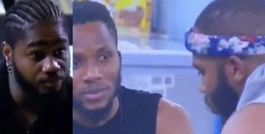 #BBNaija: Brighto reveals his intention to hurt Praise before leaving the house; here's why (Video)