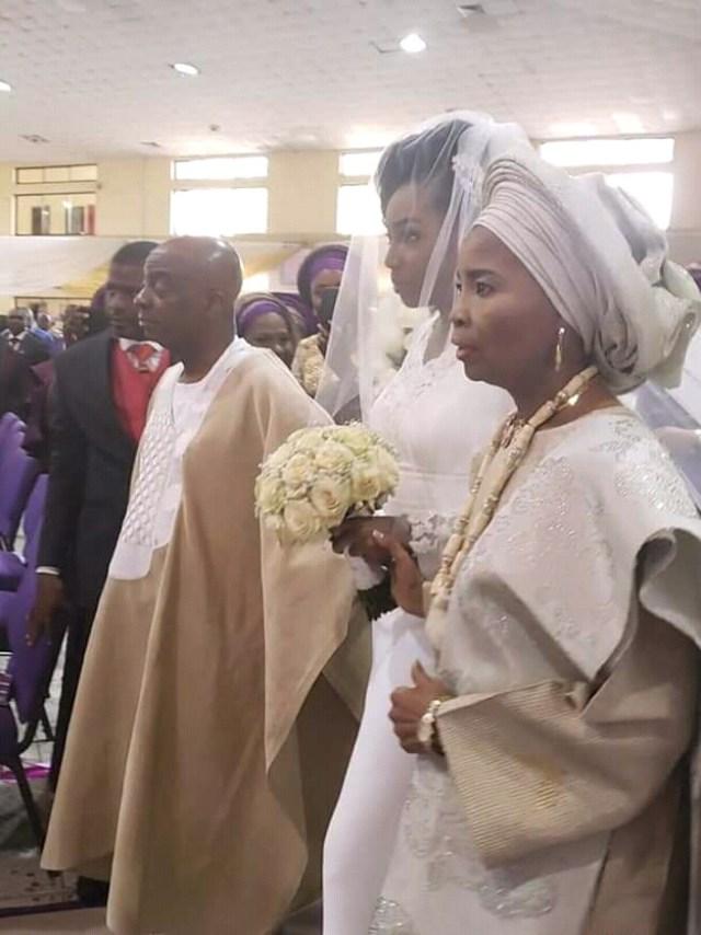 Joys' Oyedepo wed