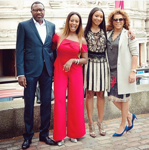 Billionaire, Femi Otedola celebrates his wife Nana on her birthday