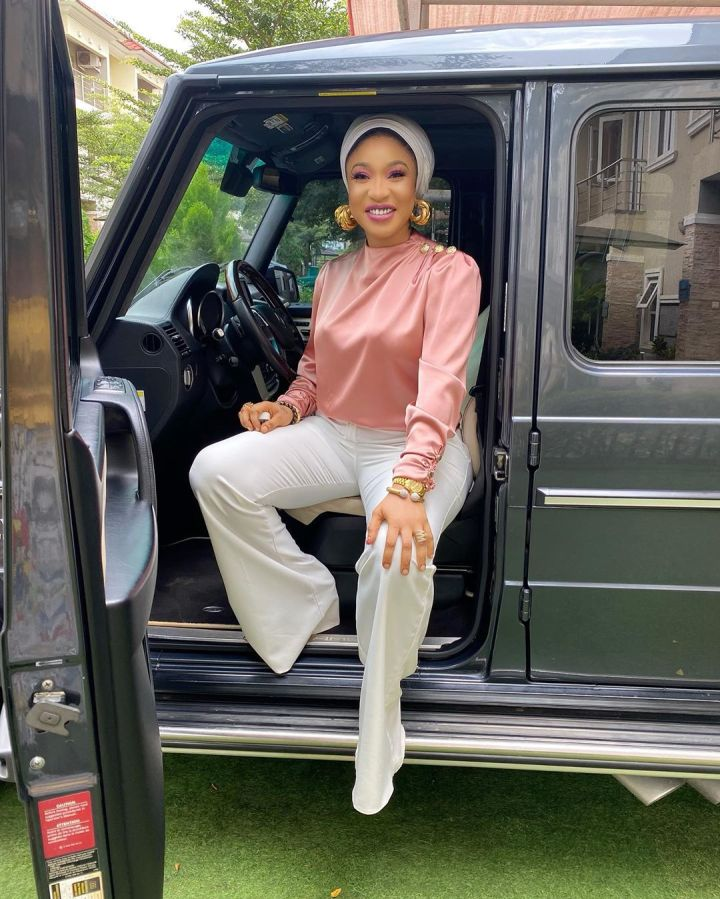 Tonto Dikeh subtly announces that she bought two new Luxury Cars
