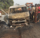 Sad: 8 people burnt to death in Lagos-Ibadan expressway Bus accident