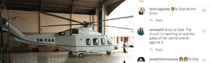 Adeboye buys helicopter