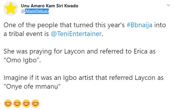 "Erica "" Omo Igbo"""