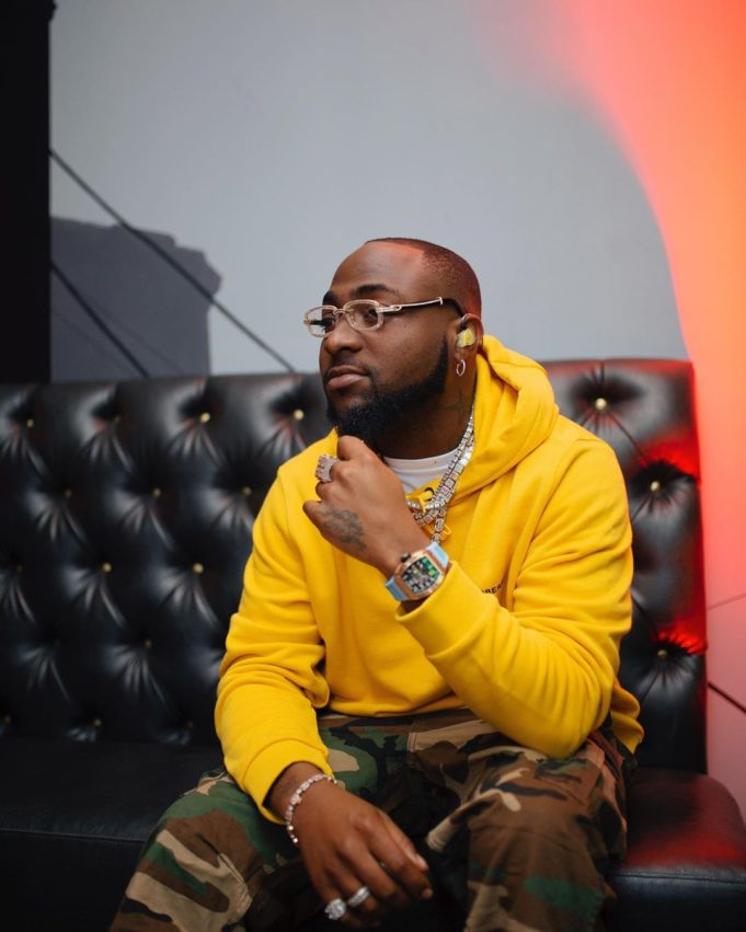 """I didn't join them to protest against SARS, I only went there to calm them down"" – Davido says during meeting with IGP (Video)"