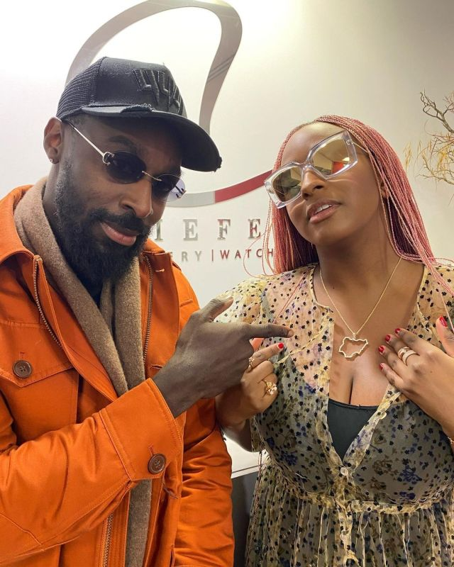 DJ cuppy gifts